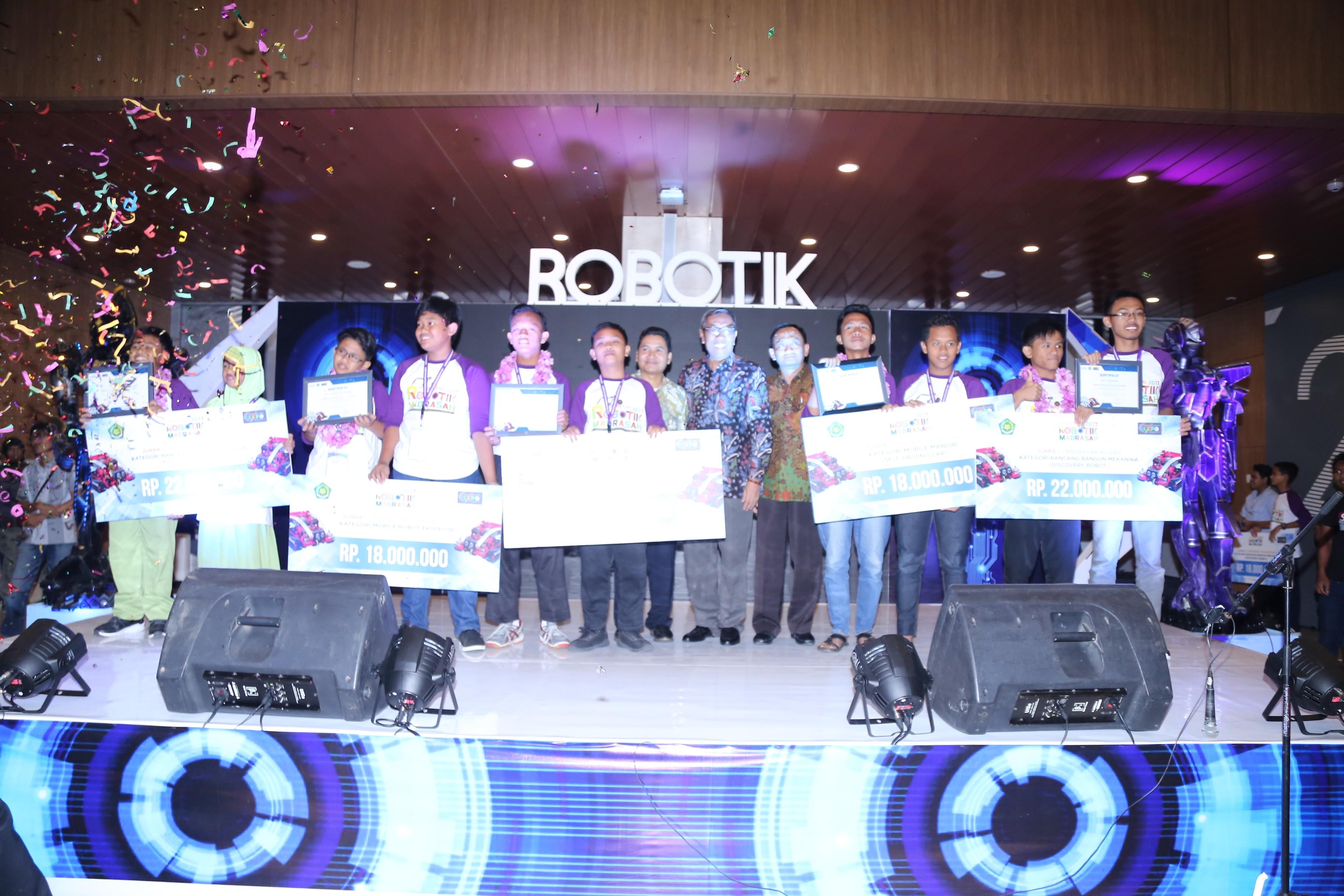 Kompetisi Robotik Madrasah 2017